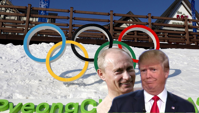 Trump: U.S. To Boycott 2018 Winter Olympics In Solidarity With Russia